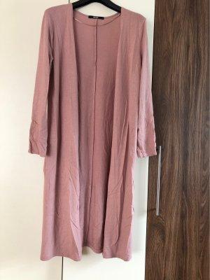 Bikbok Cappotto a maglia rosa antico