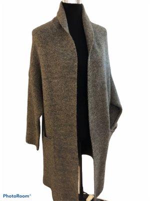 Camouflage Couture Manteau en laine gris