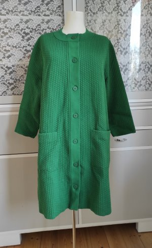 COS Knitted Coat green-dark green