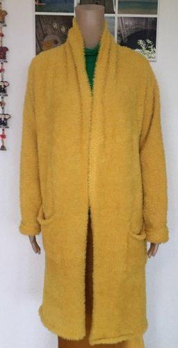 Mavi Abrigo de punto amarillo