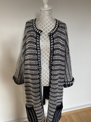 Esprit Knitted Coat white-dark blue