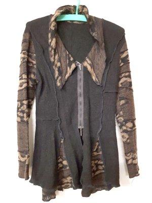 Steilmann Abrigo de lana multicolor