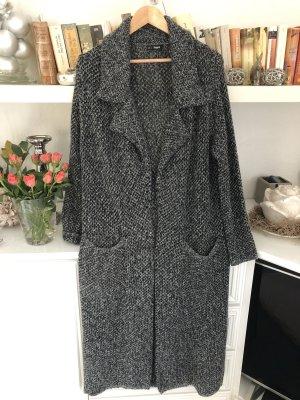 ciminy Płaszcz z dzianiny szary-czarny