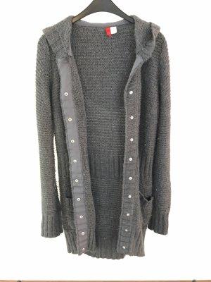 H&M Divided Manteau en tricot gris