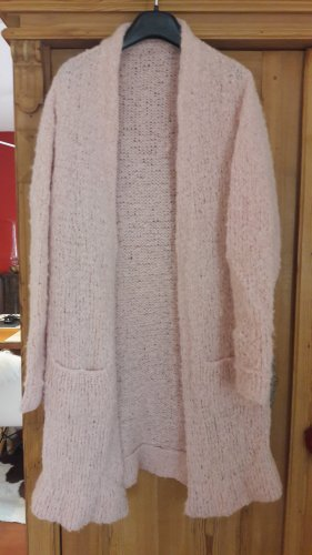 Knitted Coat pink