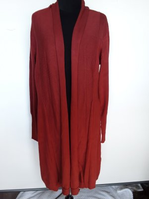 Best Connections Knitted Coat russet viscose