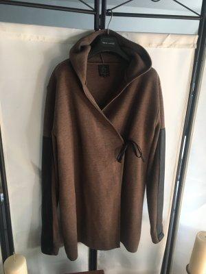 1.2.3 Paris Knitted Coat black-black brown