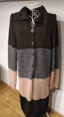 Avoca Manteau en tricot brun
