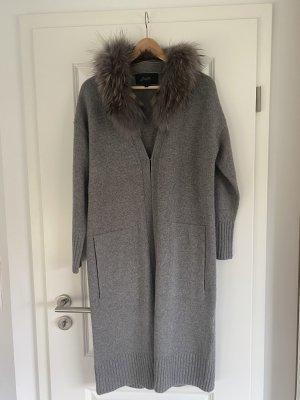 Oakwood Manteau en laine gris