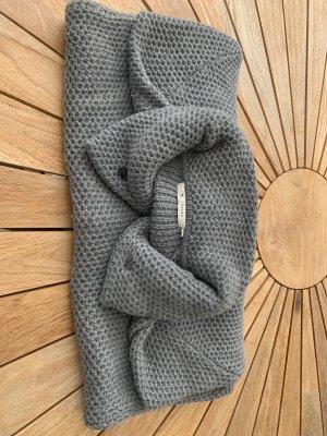 Monari Cappotto in lana grigio