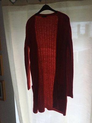 Janina Manteau en tricot rouge