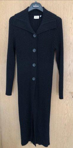Vicini Manteau en tricot noir