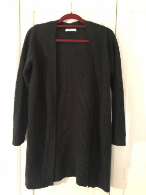 Pieces Knitted Coat dark green