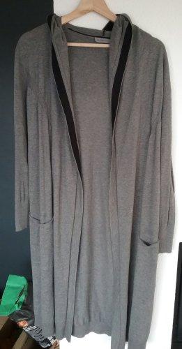 Calvin Klein Jeans Gebreide jas grijs-zwart Katoen