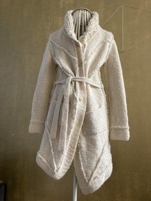 Inti Knitwear Gebreide jas wolwit-wit Wol