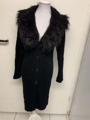 KAREN MILLEN Cappotto a maglia nero
