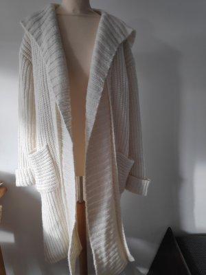 Marc O'Polo Veste tricotée en grosses mailles blanc cassé-crème