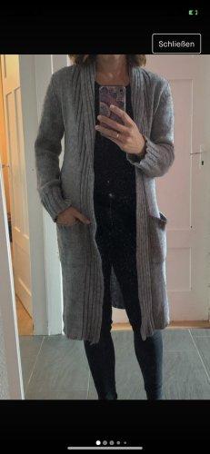 ODEON Abrigo de punto gris