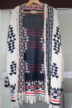 Review Manteau en tricot multicolore