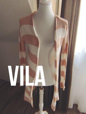 Vila Knitted Coat multicolored