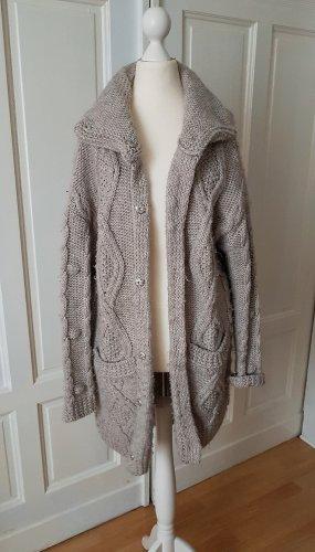 Esprit Manteau en tricot multicolore laine