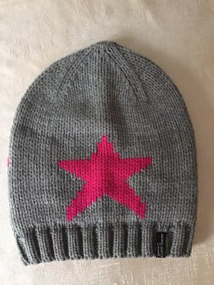 mister*lady Knitted Hat grey-pink