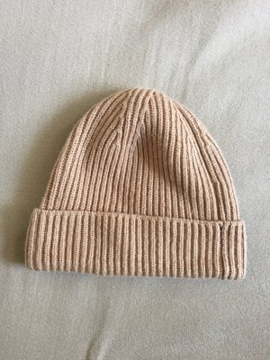 H&M Knitted Hat light brown
