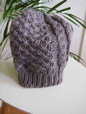 Unbekannte Marke Knitted Hat grey-grey brown