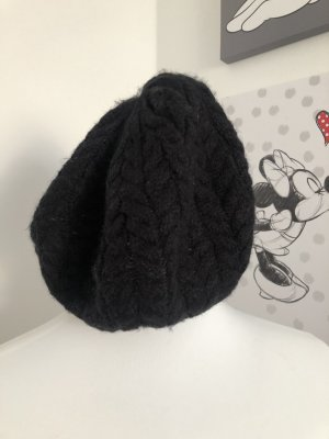 H&M Sombrero de punto negro