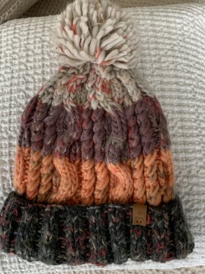 Barts Knitted Hat multicolored polyacrylic