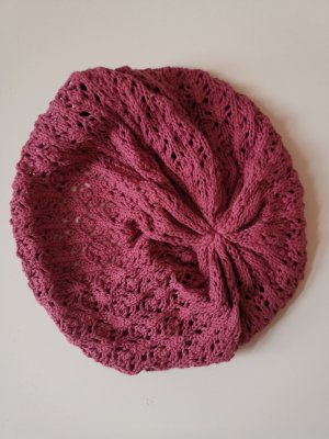 H&M Knitted Hat pink