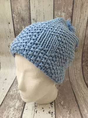 Knitted Hat azure