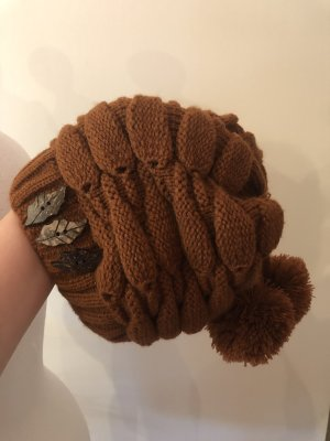 Knitted Hat russet