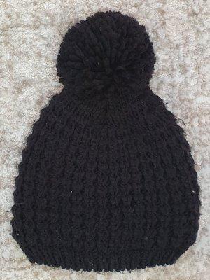 Primark Chapeau en tricot noir