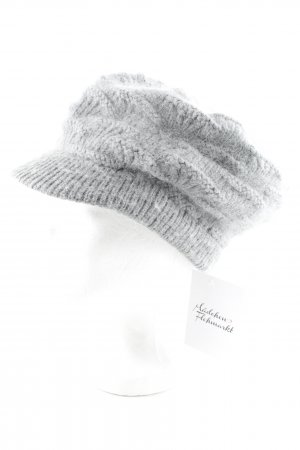 Knitted Hat grey casual look