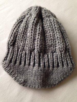 Clockhouse Chapeau en tricot gris
