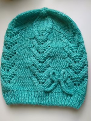 Knitted Hat turquoise