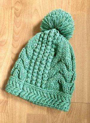 Globus Sombrero de punto verde claro