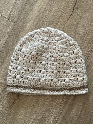 Lisbeth dahl Cappello a maglia bianco sporco