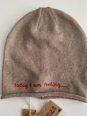 Accessoires Knitted Hat beige