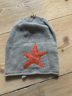 Knitted Hat multicolored cashmere