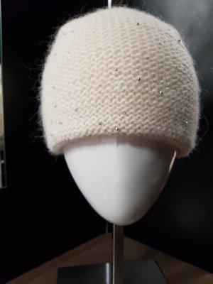 Strickmütze mit Wolle