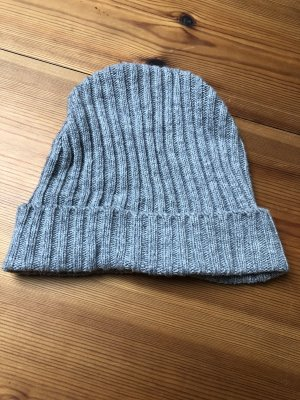 H&M Chapeau en laine gris clair