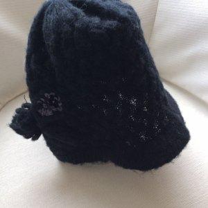 H&M Basic Gorra de plato negro