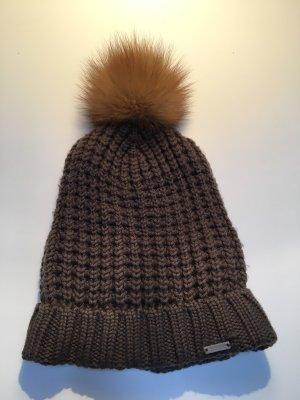 Woolrich Chapeau en tricot multicolore coton