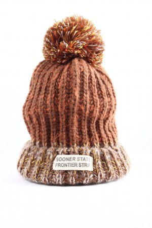 Knitted Hat cable stitch casual look