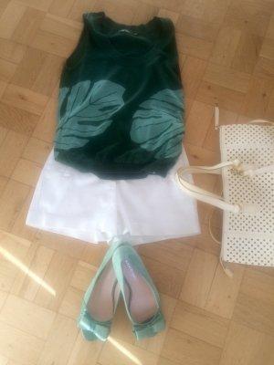 Flip*flop Haut tricotés vert forêt-vert pâle tissu mixte