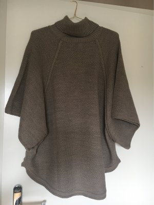 Anna Field Knitted Poncho beige