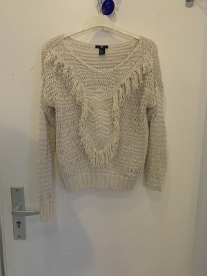 H&M Coarse Knitted Sweater cream