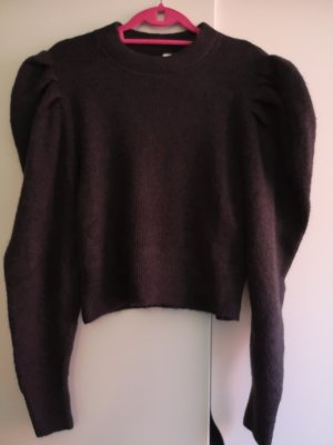 H&M Divided Knitted Sweater anthracite